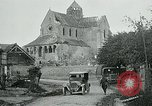 Image of Shell-damaged cathedral La Ferte-sous-Jouarre France, 1918, second 5 stock footage video 65675026408