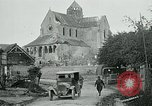 Image of Shell-damaged cathedral La Ferte-sous-Jouarre France, 1918, second 6 stock footage video 65675026408