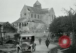 Image of Shell-damaged cathedral La Ferte-sous-Jouarre France, 1918, second 7 stock footage video 65675026408