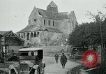 Image of Shell-damaged cathedral La Ferte-sous-Jouarre France, 1918, second 8 stock footage video 65675026408