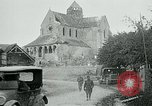 Image of Shell-damaged cathedral La Ferte-sous-Jouarre France, 1918, second 9 stock footage video 65675026408