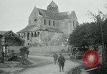 Image of Shell-damaged cathedral La Ferte-sous-Jouarre France, 1918, second 10 stock footage video 65675026408