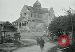 Image of Shell-damaged cathedral La Ferte-sous-Jouarre France, 1918, second 11 stock footage video 65675026408