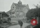 Image of Shell-damaged cathedral La Ferte-sous-Jouarre France, 1918, second 12 stock footage video 65675026408