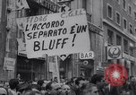 Image of Protest Rome Italy, 1967, second 7 stock footage video 65675026435