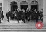 Image of Lyndon B Johnson Bonn Germany, 1967, second 9 stock footage video 65675026446