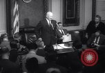 Image of Dwight D Eisenhower Washington DC USA, 1959, second 12 stock footage video 65675026453