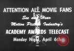 Image of Academy awards Los Angeles California USA, 1959, second 1 stock footage video 65675026462