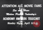 Image of Academy awards Los Angeles California USA, 1959, second 7 stock footage video 65675026462