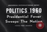 Image of Presidential election United States USA, 1960, second 1 stock footage video 65675026464