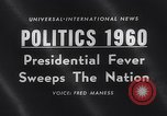 Image of Presidential election United States USA, 1960, second 3 stock footage video 65675026464