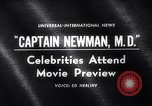 Image of Captain Newman MD movie premier Los Angeles California USA, 1963, second 1 stock footage video 65675026472
