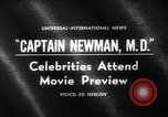 Image of Captain Newman MD movie premier Los Angeles California USA, 1963, second 3 stock footage video 65675026472