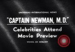 Image of Captain Newman MD movie premier Los Angeles California USA, 1963, second 4 stock footage video 65675026472