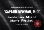 Image of Captain Newman MD movie premier Los Angeles California USA, 1963, second 5 stock footage video 65675026472