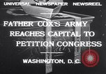 Image of Rev James R Cox Washington DC USA, 1932, second 2 stock footage video 65675026475