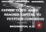 Image of Rev James R Cox Washington DC USA, 1932, second 8 stock footage video 65675026475
