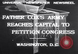 Image of Rev James R Cox Washington DC USA, 1932, second 9 stock footage video 65675026475