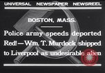 Image of William T Murdock Boston Massachusetts USA, 1932, second 7 stock footage video 65675026478