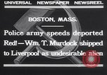 Image of William T Murdock Boston Massachusetts USA, 1932, second 12 stock footage video 65675026478