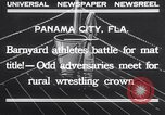 Image of dog and goose fight Panama City Florida USA, 1932, second 3 stock footage video 65675026480