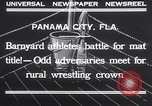 Image of dog and goose fight Panama City Florida USA, 1932, second 6 stock footage video 65675026480