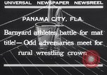 Image of dog and goose fight Panama City Florida USA, 1932, second 7 stock footage video 65675026480