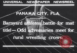 Image of dog and goose fight Panama City Florida USA, 1932, second 9 stock footage video 65675026480