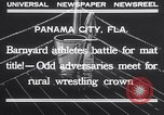 Image of dog and goose fight Panama City Florida USA, 1932, second 11 stock footage video 65675026480