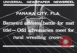 Image of dog and goose fight Panama City Florida USA, 1932, second 12 stock footage video 65675026480