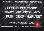 Image of flood Watsonville California USA, 1932, second 6 stock footage video 65675026481