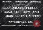 Image of flood Watsonville California USA, 1932, second 7 stock footage video 65675026481
