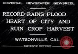 Image of flood Watsonville California USA, 1932, second 12 stock footage video 65675026481