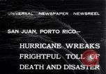 Image of 1932 San Ciprian hurricane San Juan Puerto Rico, 1932, second 1 stock footage video 65675026484