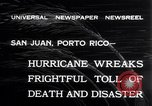 Image of 1932 San Ciprian hurricane San Juan Puerto Rico, 1932, second 2 stock footage video 65675026484