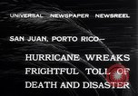 Image of 1932 San Ciprian hurricane San Juan Puerto Rico, 1932, second 3 stock footage video 65675026484
