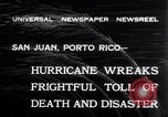 Image of 1932 San Ciprian hurricane San Juan Puerto Rico, 1932, second 5 stock footage video 65675026484