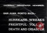 Image of 1932 San Ciprian hurricane San Juan Puerto Rico, 1932, second 6 stock footage video 65675026484
