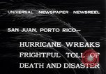Image of 1932 San Ciprian hurricane San Juan Puerto Rico, 1932, second 8 stock footage video 65675026484