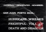 Image of 1932 San Ciprian hurricane San Juan Puerto Rico, 1932, second 9 stock footage video 65675026484