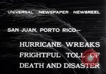 Image of 1932 San Ciprian hurricane San Juan Puerto Rico, 1932, second 10 stock footage video 65675026484
