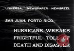 Image of 1932 San Ciprian hurricane San Juan Puerto Rico, 1932, second 11 stock footage video 65675026484