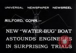 Image of Pontoon Hydroplane Connecticut USA, 1932, second 8 stock footage video 65675026485