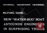 Image of Pontoon Hydroplane Connecticut USA, 1932, second 9 stock footage video 65675026485