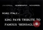 Image of Corps d'elite celebration Rome Italy, 1932, second 1 stock footage video 65675026487