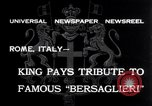 Image of Corps d'elite celebration Rome Italy, 1932, second 2 stock footage video 65675026487