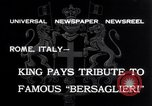 Image of Corps d'elite celebration Rome Italy, 1932, second 3 stock footage video 65675026487