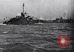Image of Ford Eagle subchaser boat in trial run Michigan United States USA, 1918, second 3 stock footage video 65675026577