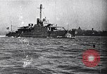 Image of Ford Eagle subchaser boat in trial run Michigan United States USA, 1918, second 5 stock footage video 65675026577