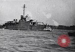 Image of Ford Eagle subchaser boat in trial run Michigan United States USA, 1918, second 7 stock footage video 65675026577